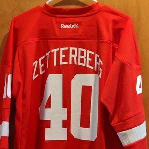 Henrik Zetterberg Detroit Redwings jersey